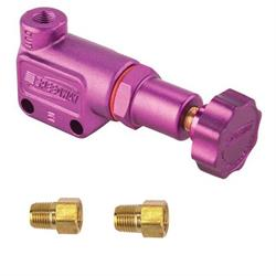 Speedway Purple Adjustable Brake Proportioning Valve