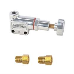 Speedway Polished Adjustable Brake Proportioning Valve