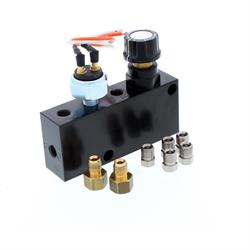 Adjustable Proportioning Blocks With Brake Light Switch