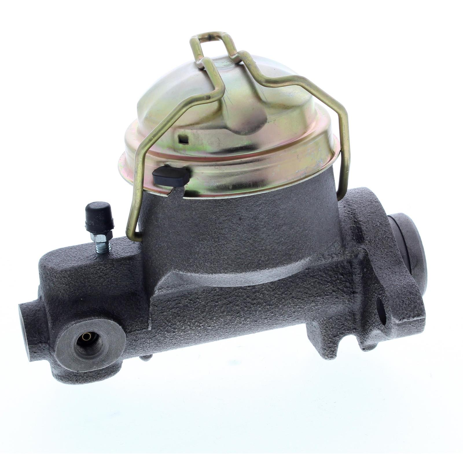 1955-66 GM Master Cylinder for Drum Brakes, Stainless Sleeve