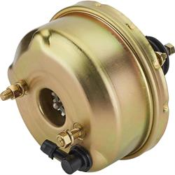 Speedway Single Diaphragm Power Brake Booster, 7 Inch, Chromate Finish