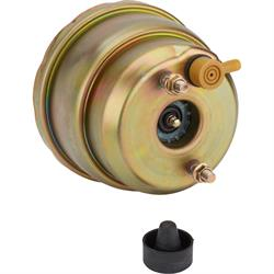 Speedway Dual Diaphragm Power Brake Booster, 7 Inch, Chromate Finish