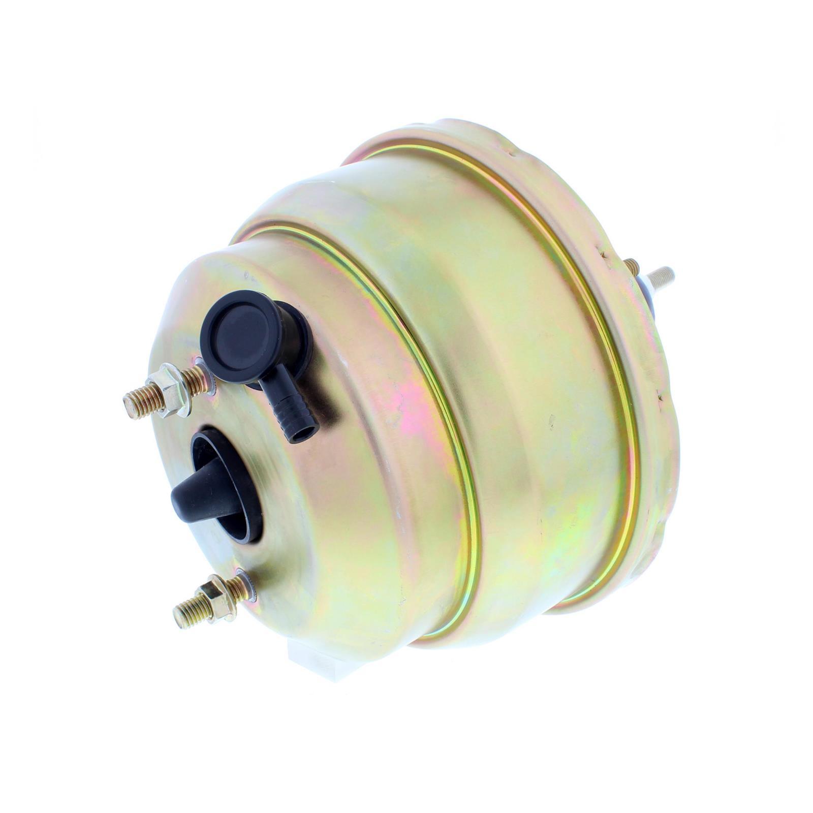 Speedway Dual Diaphragm Power Brake Booster 8 Inch Chromate Finish Gmc Headlamp 5 Pole Relay Wiring Diagram