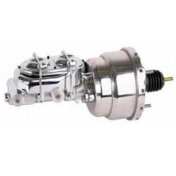 Dual Diaphragm Stainless Booster Master Cylinder Combo