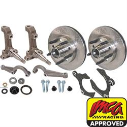 IMCA 3-Piece Metric Spindles with Speedway Rotors Kit