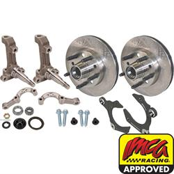 IMCA Short Arm 3-Piece Spindle With Wilwood Rotor Kit