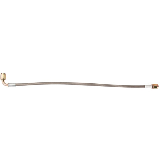 Stainless 24 Inch Brake Line with 90 Degree End