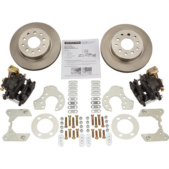 Ford 9 Inch Bolt-On Rear Disc Brake Kit w/ E-Brake Caliper