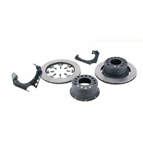 Basic Weld-On Rear Disc Brake Kit for 1978-88 GM Caliper, 3 In BS