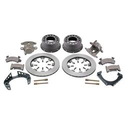 Weld-On Rear Disc Brake Kit, 1969-77 GM Caliper, 1.96 Inch Backspace