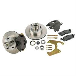 Brake Kit: 1969-77 GM Caliper to Early Ford Spindles, Chevy B-P