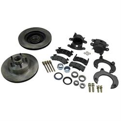 Mustang II Complete 11 In Front Disc Brake Kit, 5 on 4-3/4, Granada