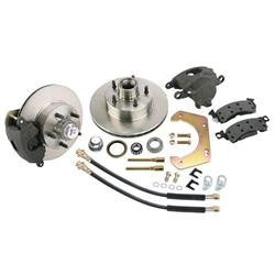 Front Disc Brake Kit, GM Mid-size to 1949-54 Chevy Spindle, 5 on 4-1/2