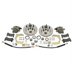 Front Disc Brake Kit GM Metric/Mustang II to 1949-54 Chevy, 5 on 4-1/2