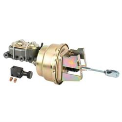 1958-64 Chevy Full-size Car Brake Booster Combo, Disc/Disc, Drum/Drum