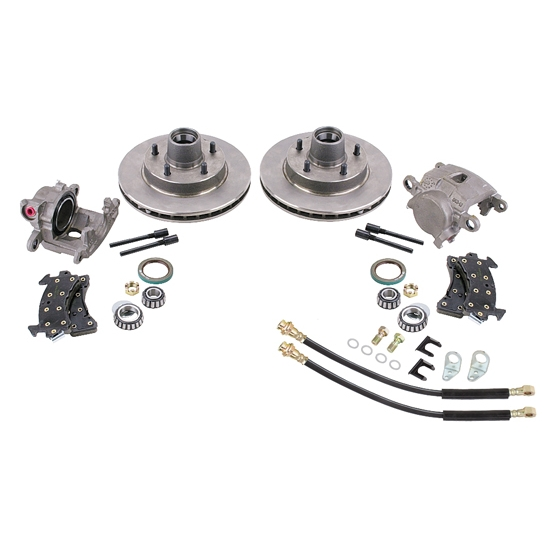 GM Metric Disc Brake Kit for 910-34921 1955-57 2