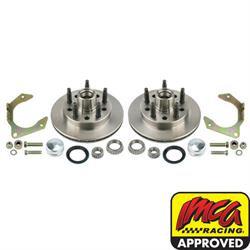 Speedway Hybrid Front Disc Brake Rotor Conversion Kit