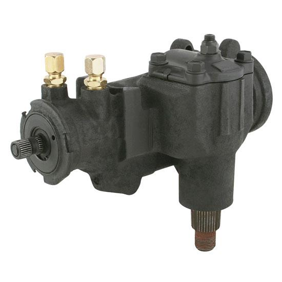 1964-88 GM Power Steering Box, 3/4 Inch 30-Spline Input
