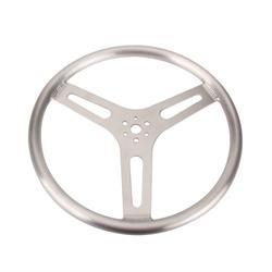 15 Inch Standard Flat Aluminum Steering Wheel