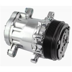 Tuff Stuff 4517NB6G Peanut Style SD7 A/C Compressor, Polished