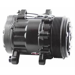 Tuff Stuff 4517NC6GBLA Peanut Style SD7 A/C Compressor, Black