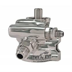 Tuff Stuff 6175ALP Type II Aluminum Power Steering Pump, Polished