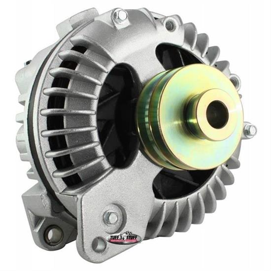 Tuff Stuff 8509DDP 1 Wire Alternator, 100 AMP, Double Groove Pulley