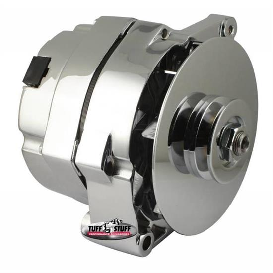 Tuff Stuff 7127nk 1 Wire Alternator 140 Amp V Groove Pulley