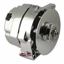 Tuff Stuff 7127NK 1 Wire Alternator, 140 AMP, V Groove Pulley