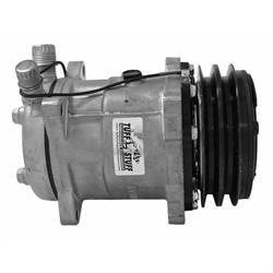 Tuff Stuff 4515NCDP Sanden Style SD508 A/C Compressor, R134A Series