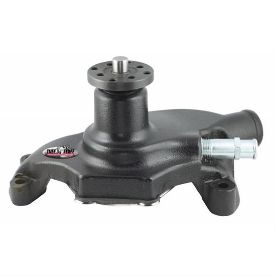 Tuff Stuff Water Pump 1504NA; Mechanical Chrome Cast Iron for Oldsmobile V8