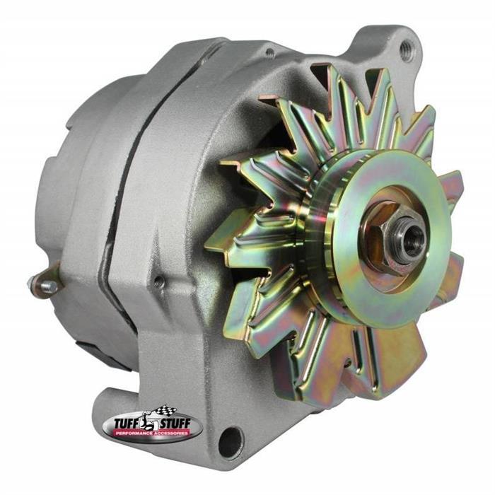 Tuff Stuff 7068K Smooth Back 1 Wire Ford Alternator, 140 AMP | Tuff Stuff Alternator Wiring Diagram |  | Speedway Motors