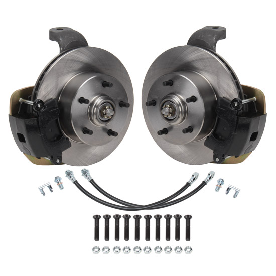 2 Inch Drop Spindle/Brake Kit, 1958-64 Chevy, 5 on 4.75 Inch