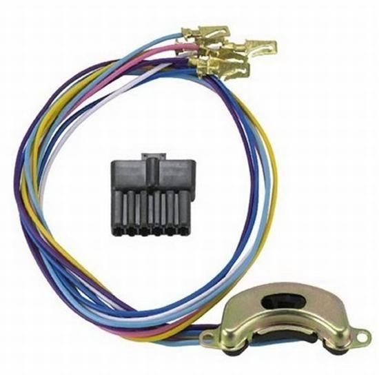 american autowire 37789 1957 chevy oem style turn signal switch Battery Tender Wiring Harness