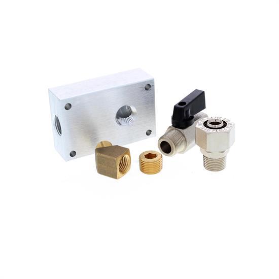 RapidAir M3810 Maxline Air Hose Outlet Connector Kit, 1/2 Inch Hose
