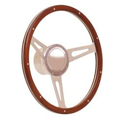 GT Performance 38-4247 GT9 Retro Cobra Style Wood Steering Wheel
