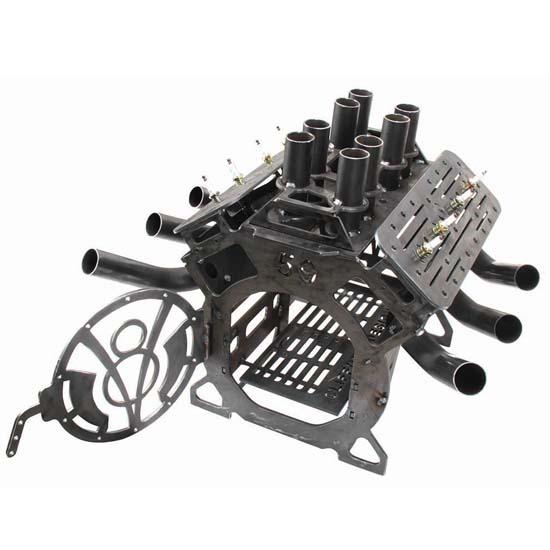 - U-Weld-It Flathead Fire Pit Kit