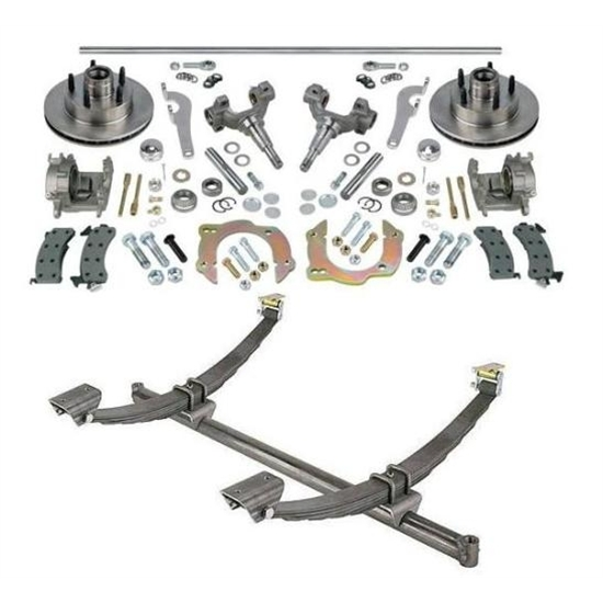 gasser straight axle, chevy spindle and brake kits, 58 1 2 hub to hub 1998 chevy truck front suspension diagram chevrolet & gmc truck parts for c10