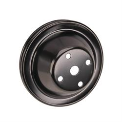 Single Groove Water Pump Pulley Small Block Chevy Long Pump
