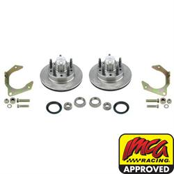 Speedway Hybrid Oil Bath Front Disc Brake Rotor Conversion Kit