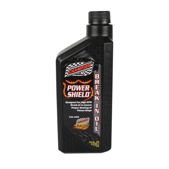 Champion Racing 4270H Power Shield Engine Break-In Oil, 1 Quart