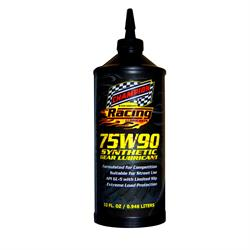 Champion Racing 4312H Full Synthetic Gear Oil, 75W90, 12/1 Quart