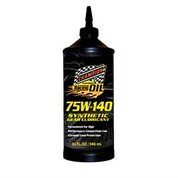 Champion Racing 4371H Full Synthetic Gear Oil, 75W140, 12/1 Quart