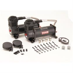 Viair 44442 Dual Air Suspension Compressor Kit, 444C, Black