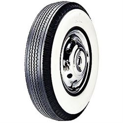 Kelsey Tire CB885 Super Cushion Whitewall Tire, 710/15