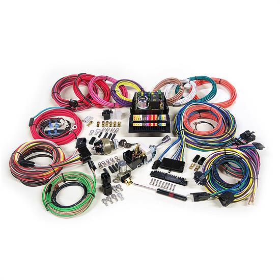 Race Car Wiring Harness Painless 50003 Universal   Wiring ... Race Car Complete Wiring Harness on