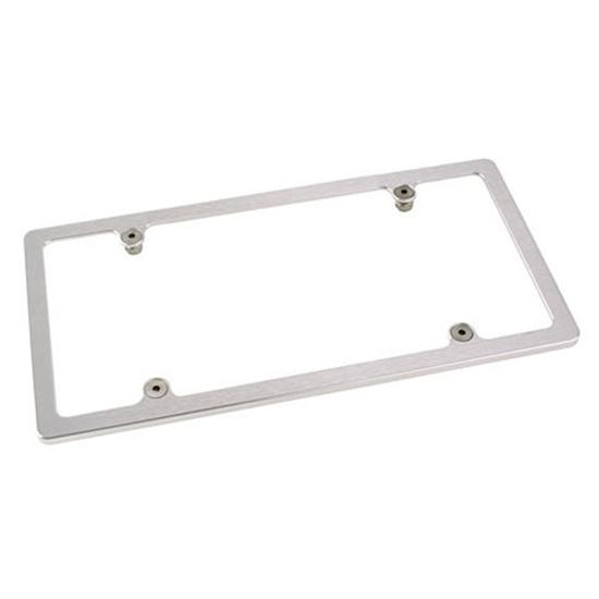 Billet Aluminum License Plate Frame Holder