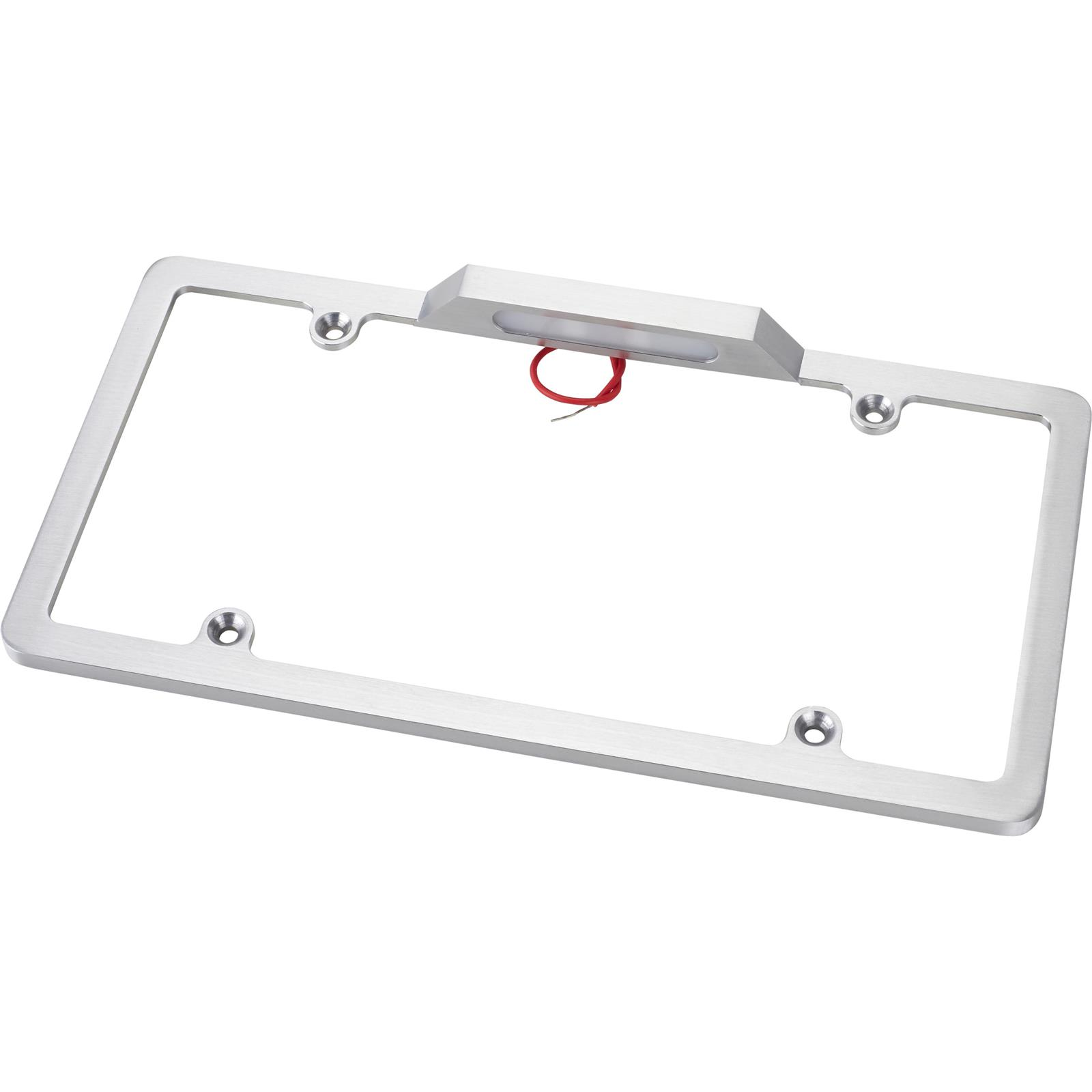 1932 Ford Car Pick Up Truck Front Rear License Plate Holder Chrome Frames New