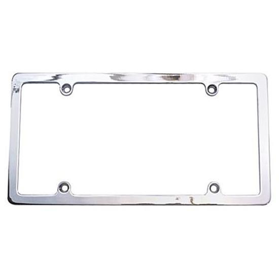 Perimeter Black License Plate Frame Universal Fit