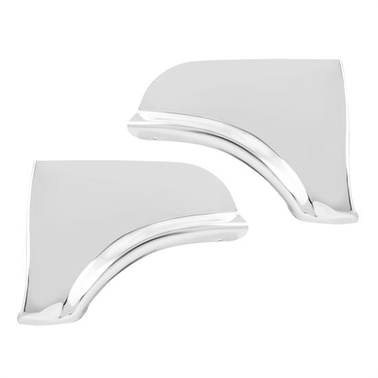 Fender Skirt Scuff Pad, Stainless Steel, 1964 Ford